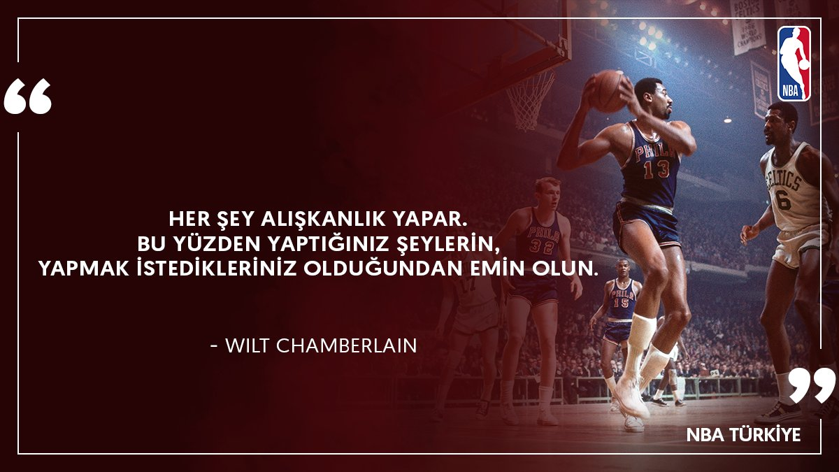 Wilt Chamberlain! #Pazartesi  #MondayMotivation https://t.co/GygTjTd5R...