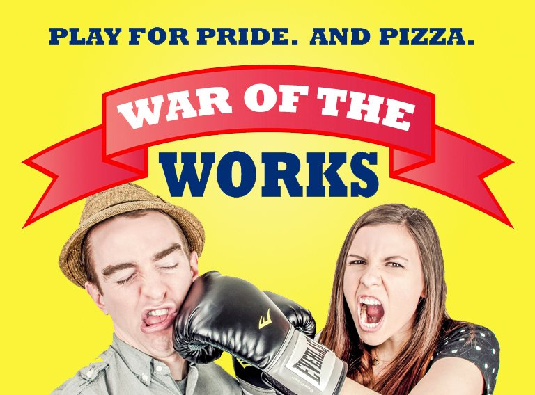 Today we are War of the Works @WessexFM  against @TravisPerkinsCo goin...