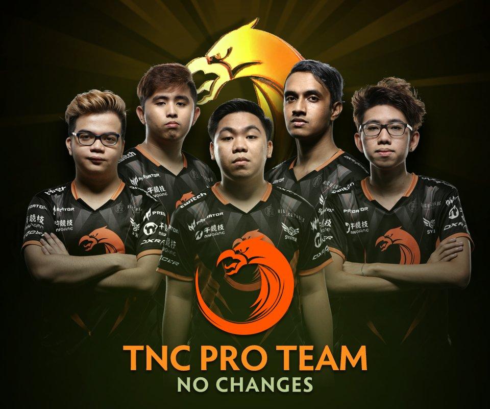 TnC Pro Team - No changes. https://t.co/...