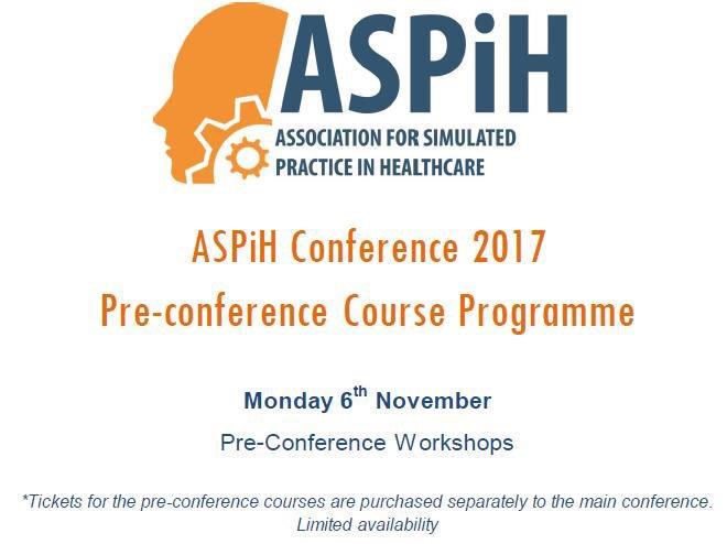 Select a preConf workshop #ASPiH2017 #debriefing #evaluation #publications #simulatedpatients #insitu #technicians  http:// bit.ly/2fXIyOr  &nbsp;  <br>http://pic.twitter.com/uGlHSRQzDt