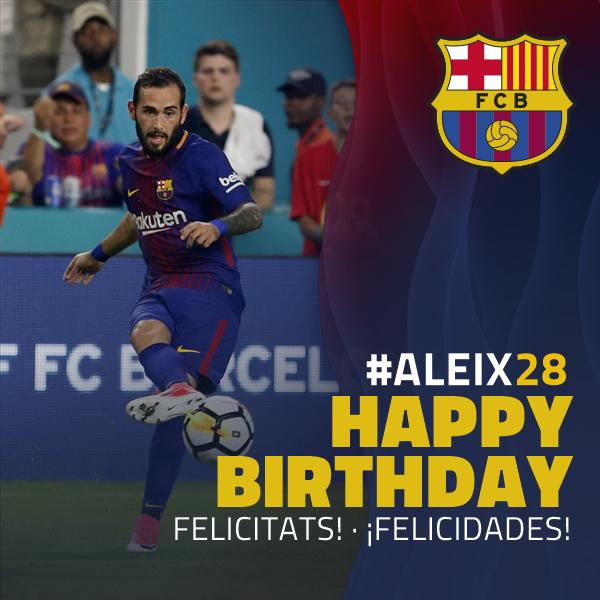 🎂🎉🎁 Happy Birthday Aleix Vidal!!! #Aleix28