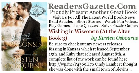 Wishing in Wisconsin (At the Altar Book 3) @AuthorKOsbourne #Comedy #Romance https://t.co/BHxo1gpO60 Be sure to check out my #RGBook 3