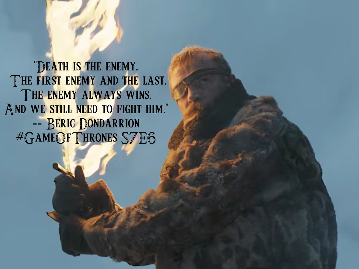 #GameOfThrones And the best quote from this episode was from ? #GoTS7 #GoTS7e6 #GameOfThronesS7 #gameofthronesseason7 #GameofThones<br>http://pic.twitter.com/sgCiUuZ9AO