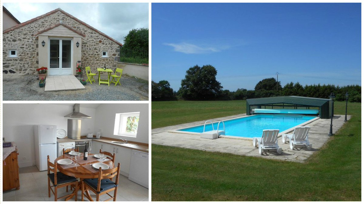 Get £100 off September weeks at rural 2 bed #holidaylet with pool in a great location between #Nantes &amp; #Poitiers  https://www. holidayfrancedirect.co.uk/holiday-rental s/PS004984/index.htm &nbsp; … <br>http://pic.twitter.com/5lYyJzcM7F