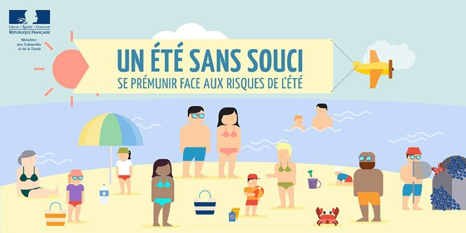 (Re)découvrez les bons gestes à adopter pour un #étésanssouci https://t.co/o4LYmKAkdK #été #soleil #vacances