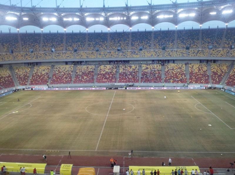 Atenção Sporting: relvado da Arena de Bucareste foi substituído https://t.co/PwZbwRs65D