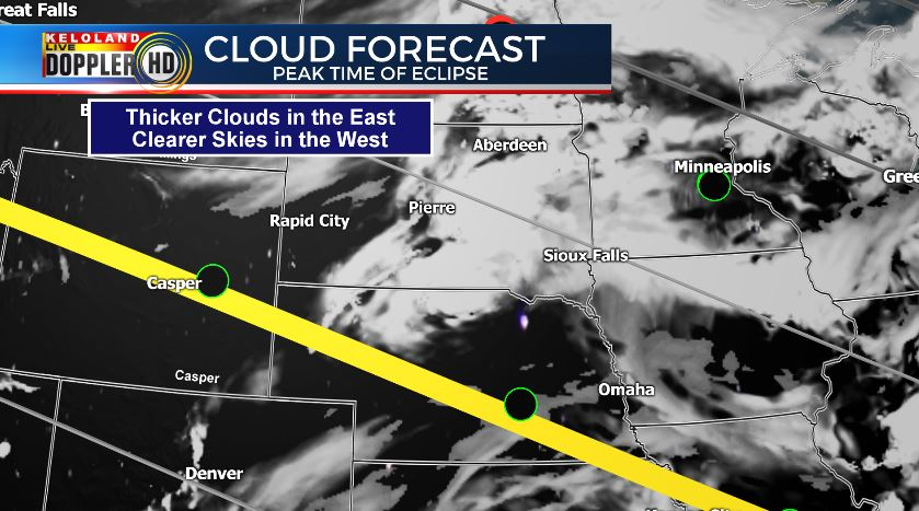 Kelo Weather Map.Keloland News On Twitter Here S The Latest Cloud Forecast As Of