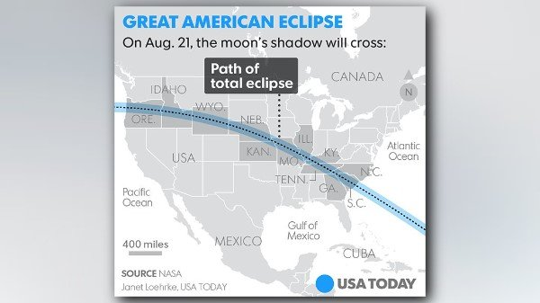Eclipse weather forecast: Where will clouds mar your view of the sky spectacle? https://t.co/sPwzaR5dYN