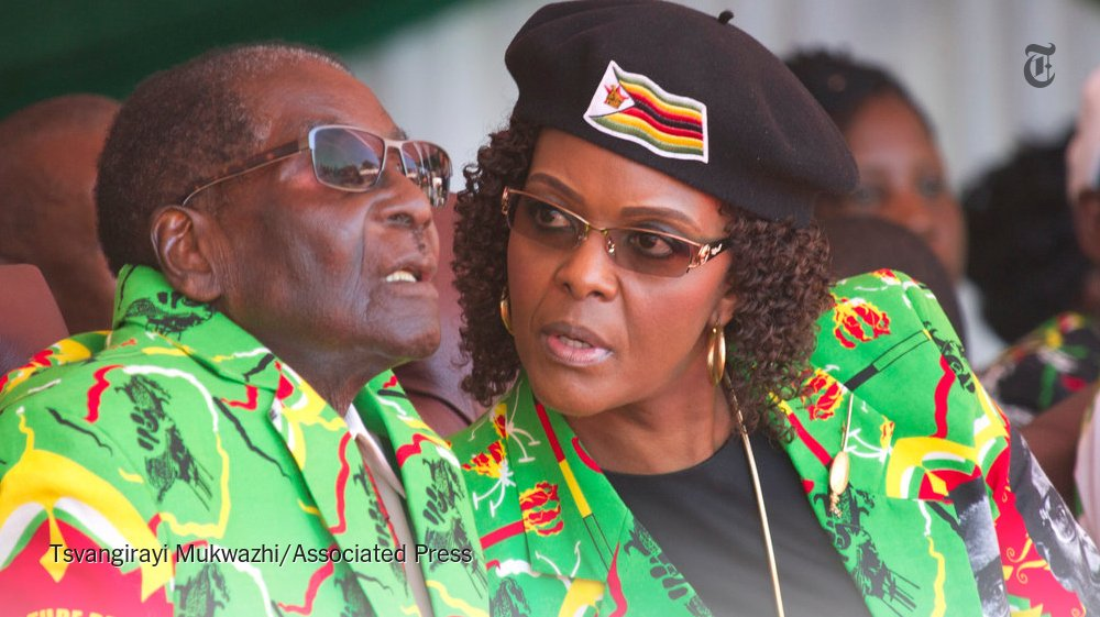 Zimbabwe's first lady, Grace Mugabe, left South Africa after requesting diplomatic immunity for an assault charge https://t.co/KE4BxUWclO