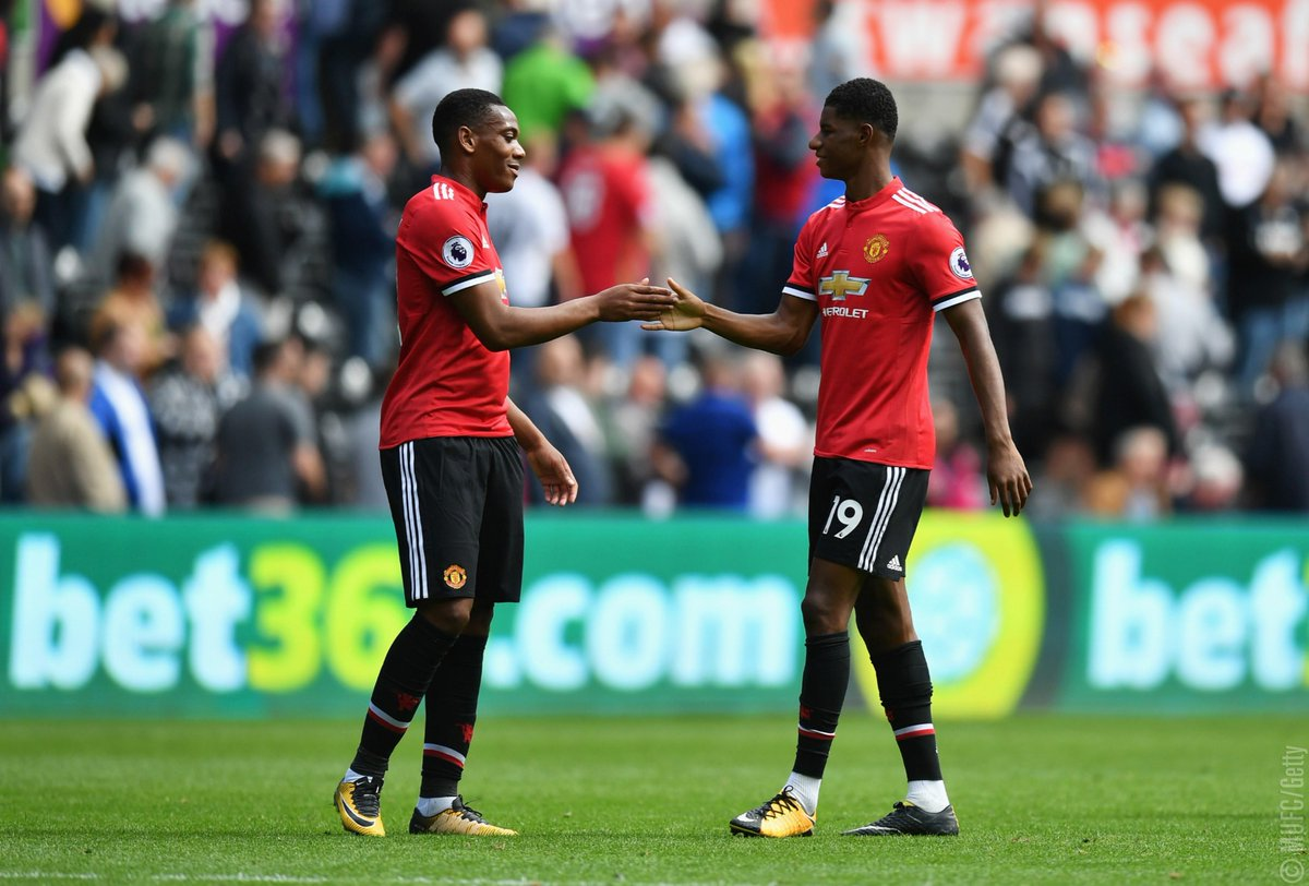 Jose Mourinho feels @MarcusRashfordwill adapt to difficult situations & had special praise for : @AnthonyMartialhttps://t.co/uMdkzSh4GS
