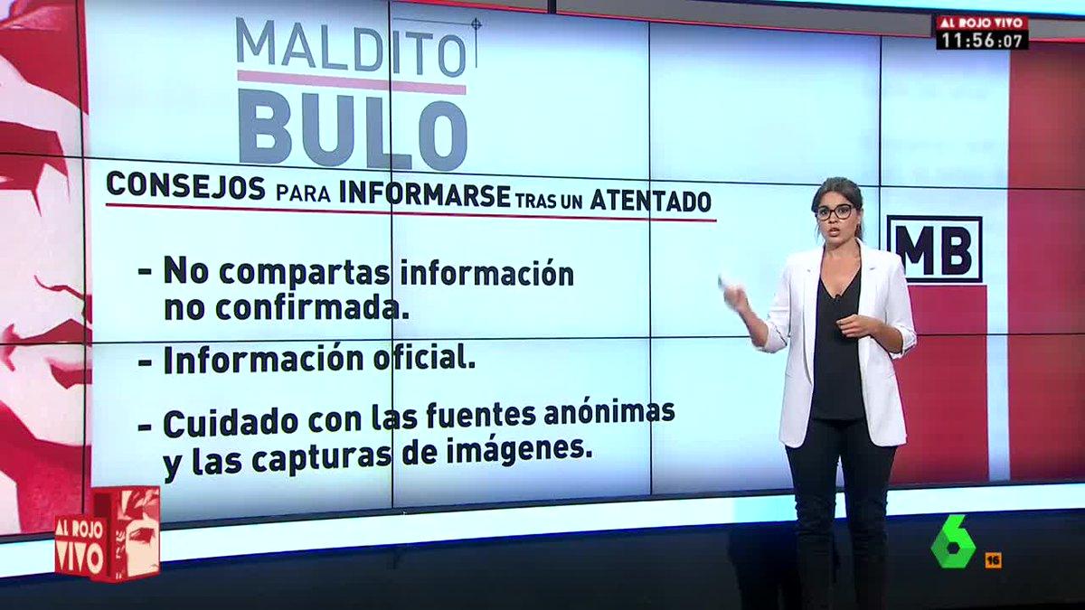 🔴 @cjimenezcruz da los consejos para informarse tras un atentado https...
