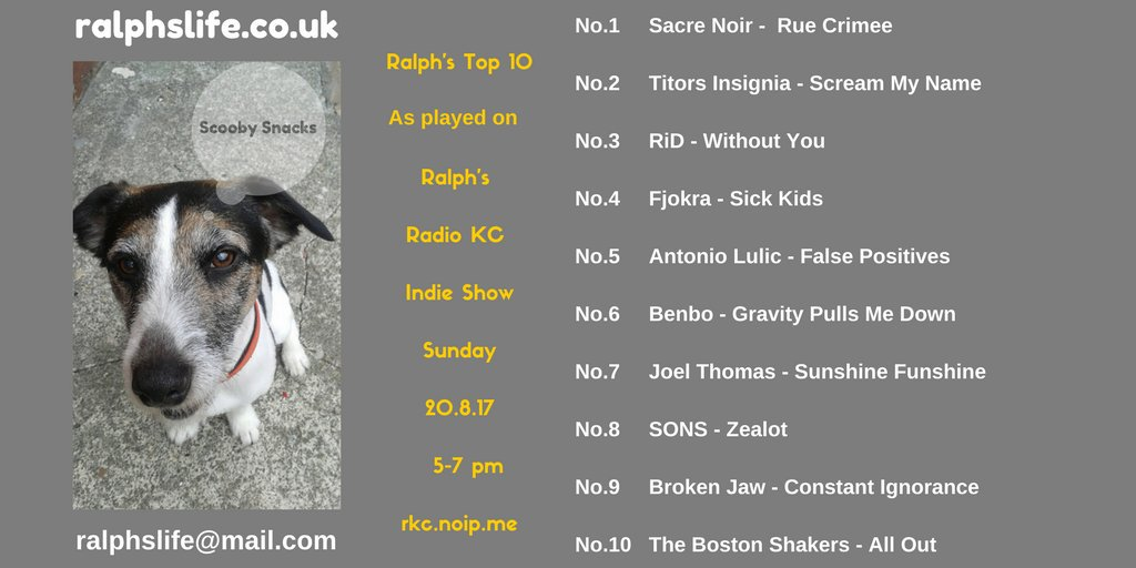 Up 2 to 6! @tweetybenbo on @fruitbatwalton Indie Top 10. Which you can hear on @RadioKC  on Sundays. #NewMusic #Radio #Indie<br>http://pic.twitter.com/RofJdhqKqN