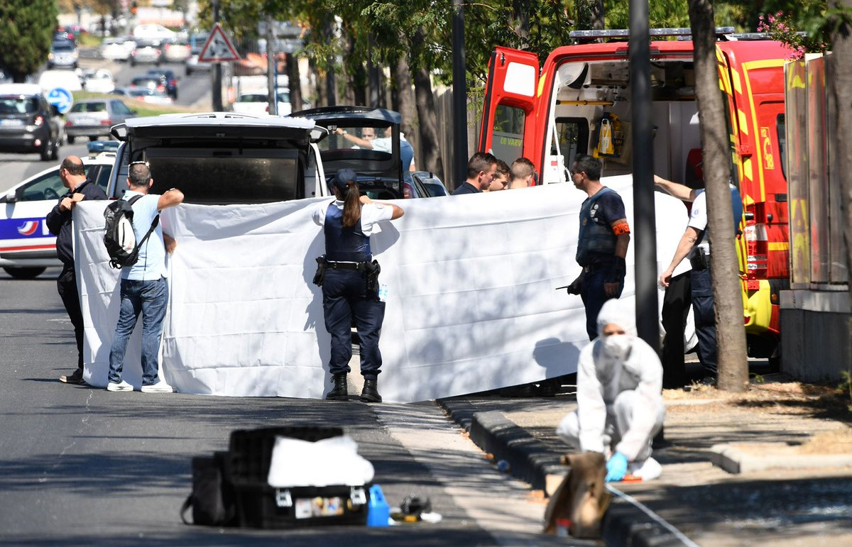 Woman dead as van rams bus stops in Marseille; reports say driver arrested https://t.co/hDnzNWJKDX
