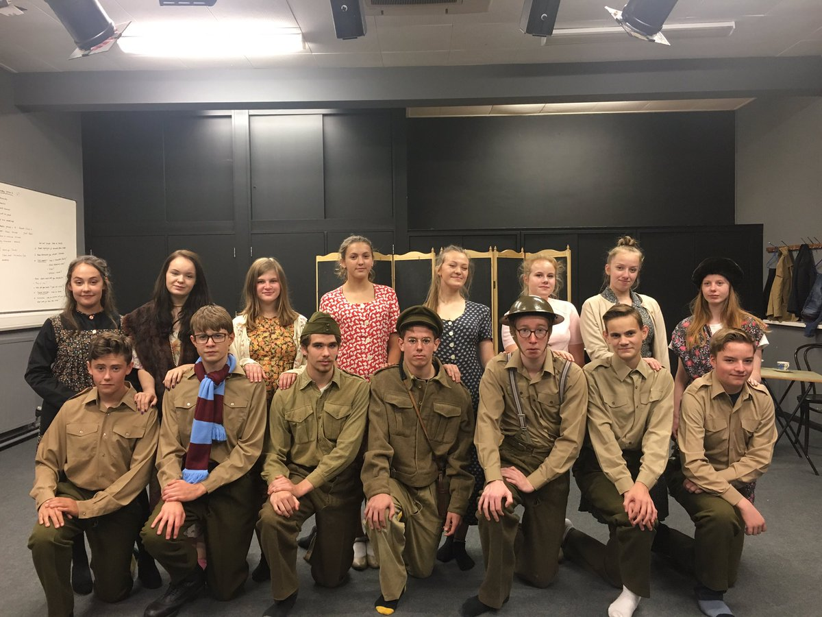 Fantastic morning rehearsing Dads Army super proud of the cast another amazing production from @AHS_Drama @aylshamhigh #attention  <br>http://pic.twitter.com/xaacPG8QRQ