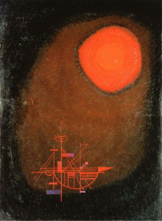 Thank You for all the RTs, and favs - Have an excellent week! @francreynel @ThepaleUsher @ReemK10 @raoul_pablo   #Kandinsky, #Red Sun &amp; Ship <br>http://pic.twitter.com/06frs0EIFE