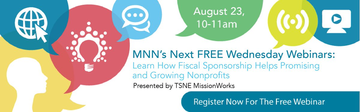 .@TSNE&#39;s webinar on 8/23 is a must for any #nonprofit looking for #fiscal sponsorship services! RSVP:  http:// ow.ly/tDXK30eyDbP  &nbsp;  <br>http://pic.twitter.com/mzL8EIqG4s