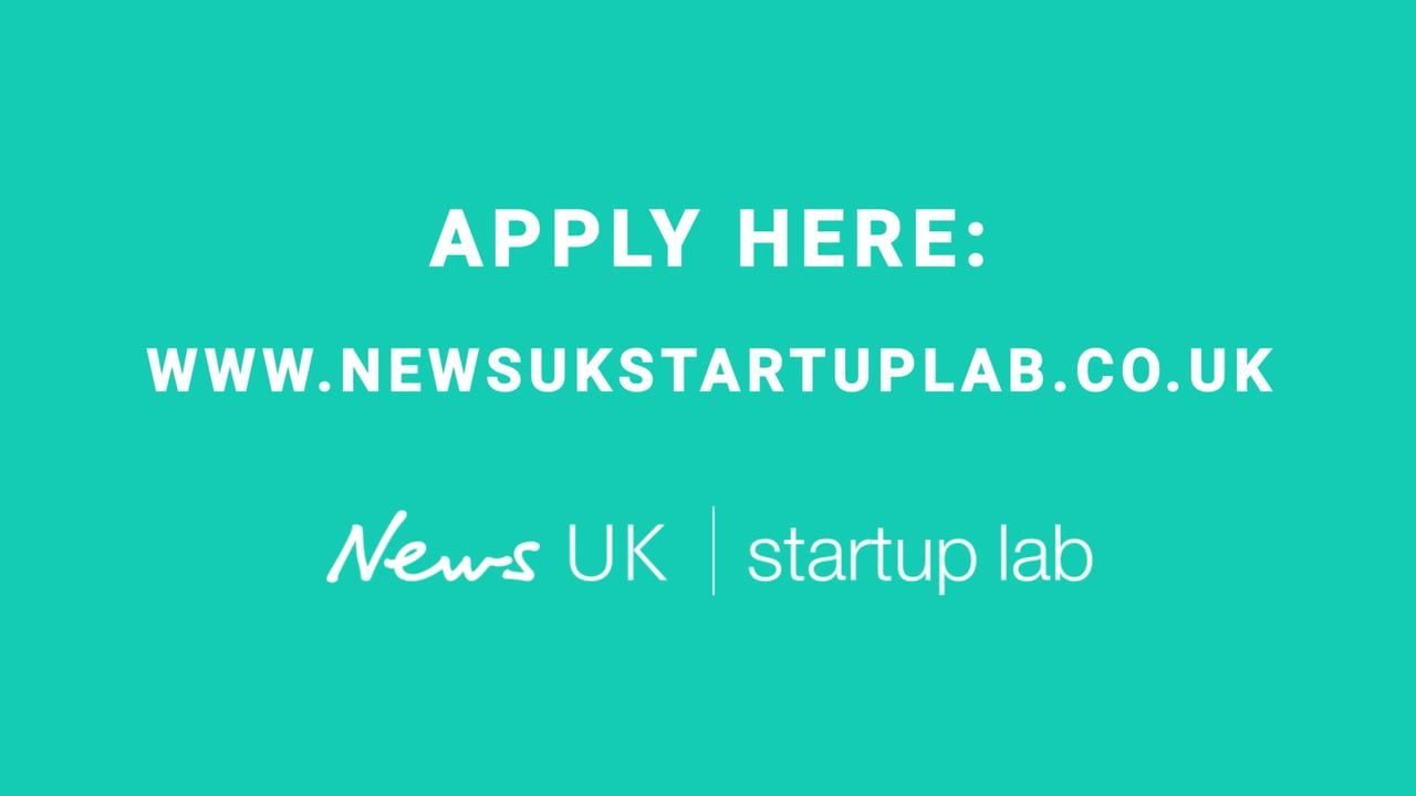 Introducing the @newsUK_startups Lab https://t.co/fMFI48itKL https://t.co/bKLskaygJp