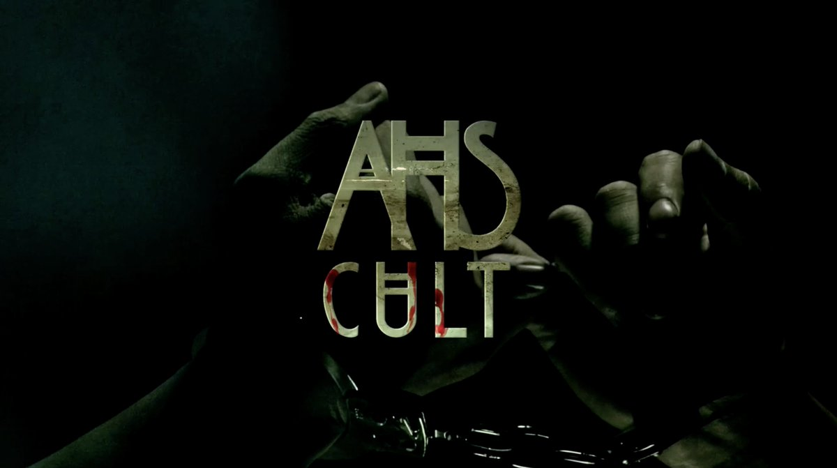 THE OPENING CREDITS FOR AMERICAN HORROR STORY: CULT
