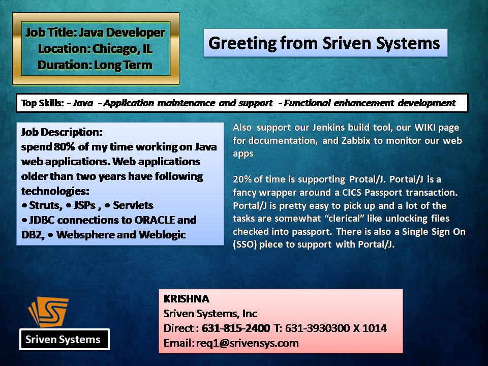 Sriven Systems on Twitter: