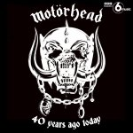 """""""You can call me Motorhead, alright..."""" Lemmy and co's self-titled debut album was released 40 years ago today. (@myMotorhead)"""