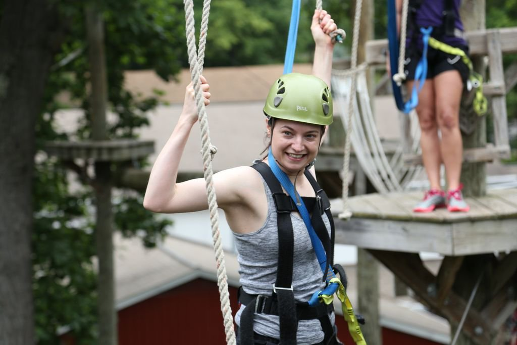 Find your inner Tarzan or Jane on the Challenge Adventure Course! #ref...