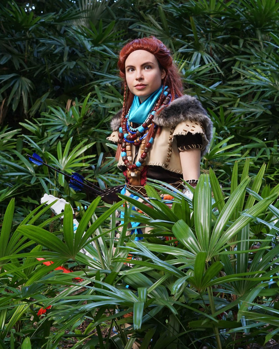 Wandering around the forest. @Guerrilla  #cosplay #cosplayer #aloycosplay #horizonzerodawn #geek #Sony #PlayStation #PS4 #art #metrocon<br>http://pic.twitter.com/1VWdE6VCcj