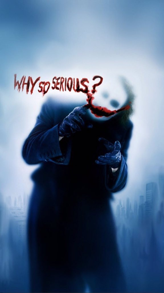 - THE JOKER  #TheDarkKnight #Wallpaper <br>http://pic.twitter.com/45Ni2S8YO3