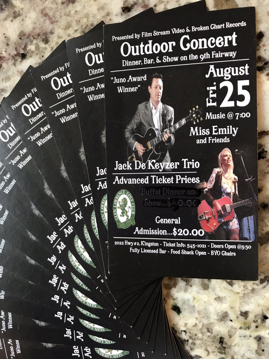 Win! @TheMissEmily and @JackdeKeyzer concert this Friday at @GlenLawrenceGC pairs of tix to give away! Retweet to qualify  #ygk #SummerFun<br>http://pic.twitter.com/8ZWXuEevlJ