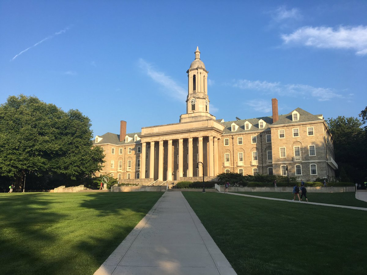 Happy first day of classes, Penn State! https://t.co/tG8UKxuhBE
