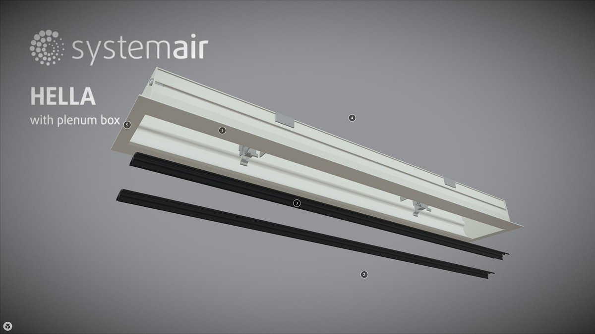 Systemair On Twitter To Discover The New Hella And T Linear Slot Diffusers In Interactive 3d S Co Xojo3svv8g Hvac Airquality
