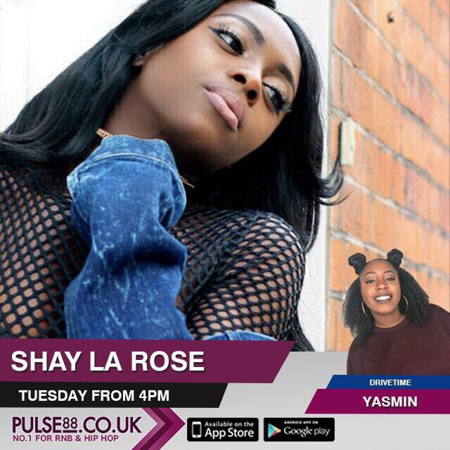 Lock into @Pulse88radio tomorrow for drive time with @yasmin_sabih1 who&#39;ll be interviewing @iamshaylarose! 4-7pm!  #radio #interview<br>http://pic.twitter.com/AoF69Hna3Y