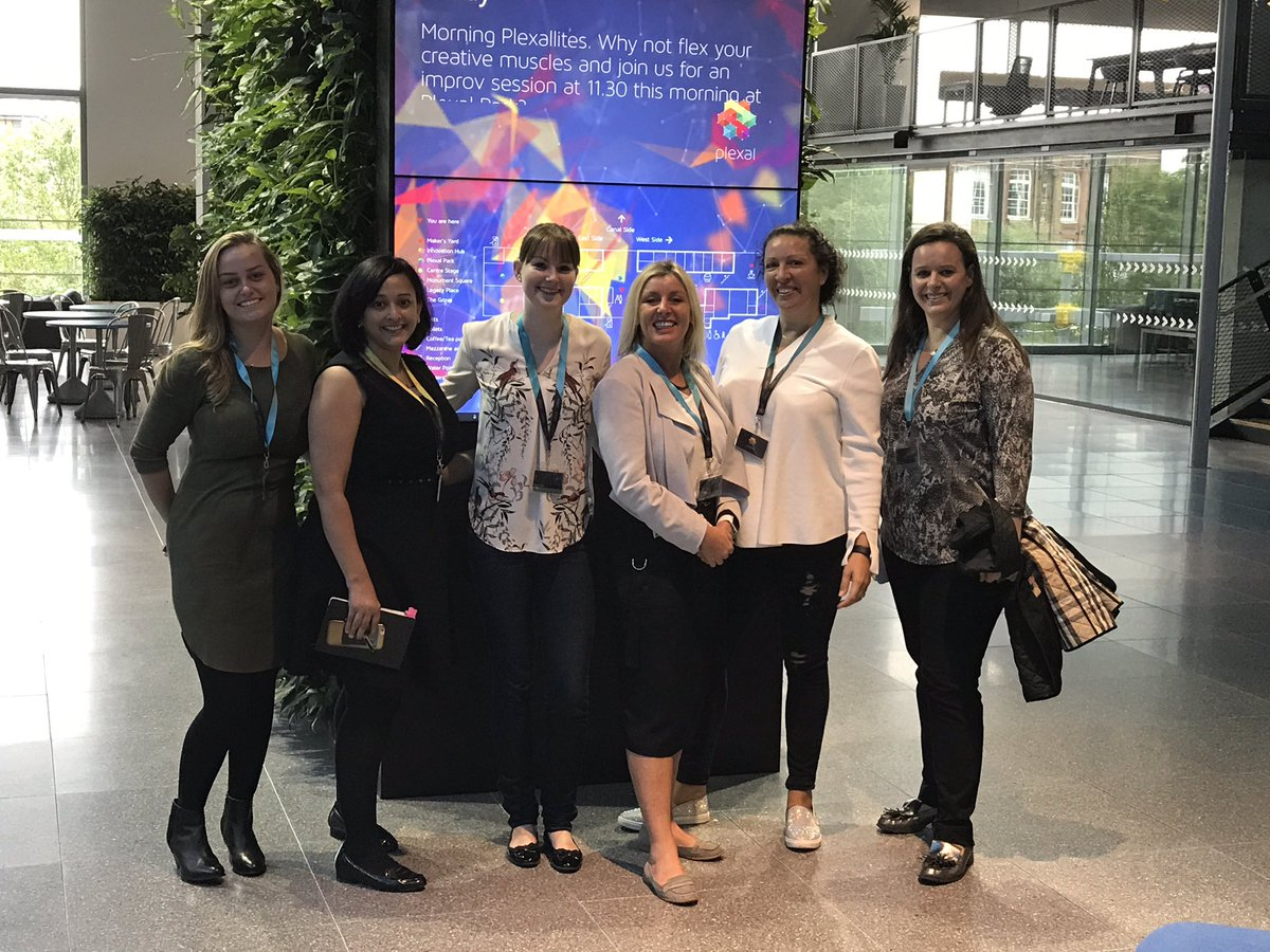 The planning team for #WeAreTechWomen @Plexalcity - it&#39;s all coming together beautifully - so excited for 30 Nov #womenintech <br>http://pic.twitter.com/ibZHaXBuXh