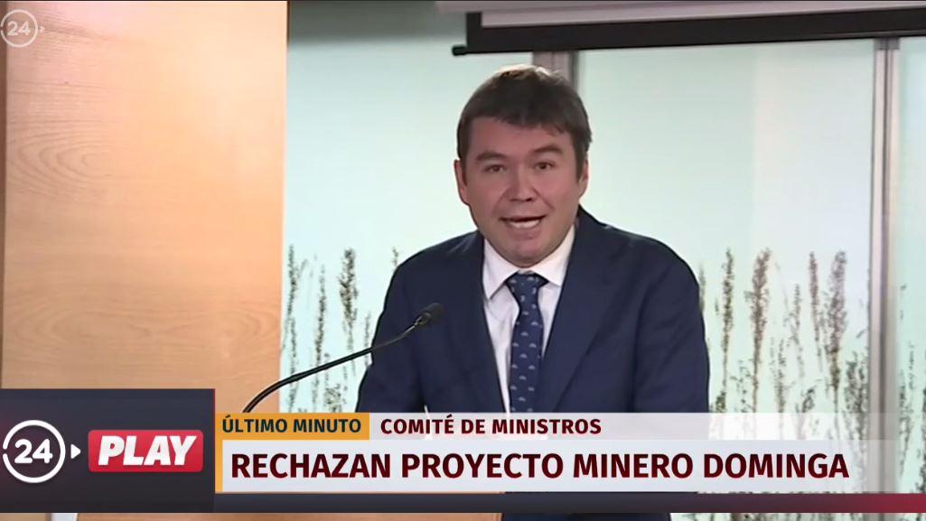 AHORA: Comité Ministros rechaza proyecto minero #Dominga por 'insufici...