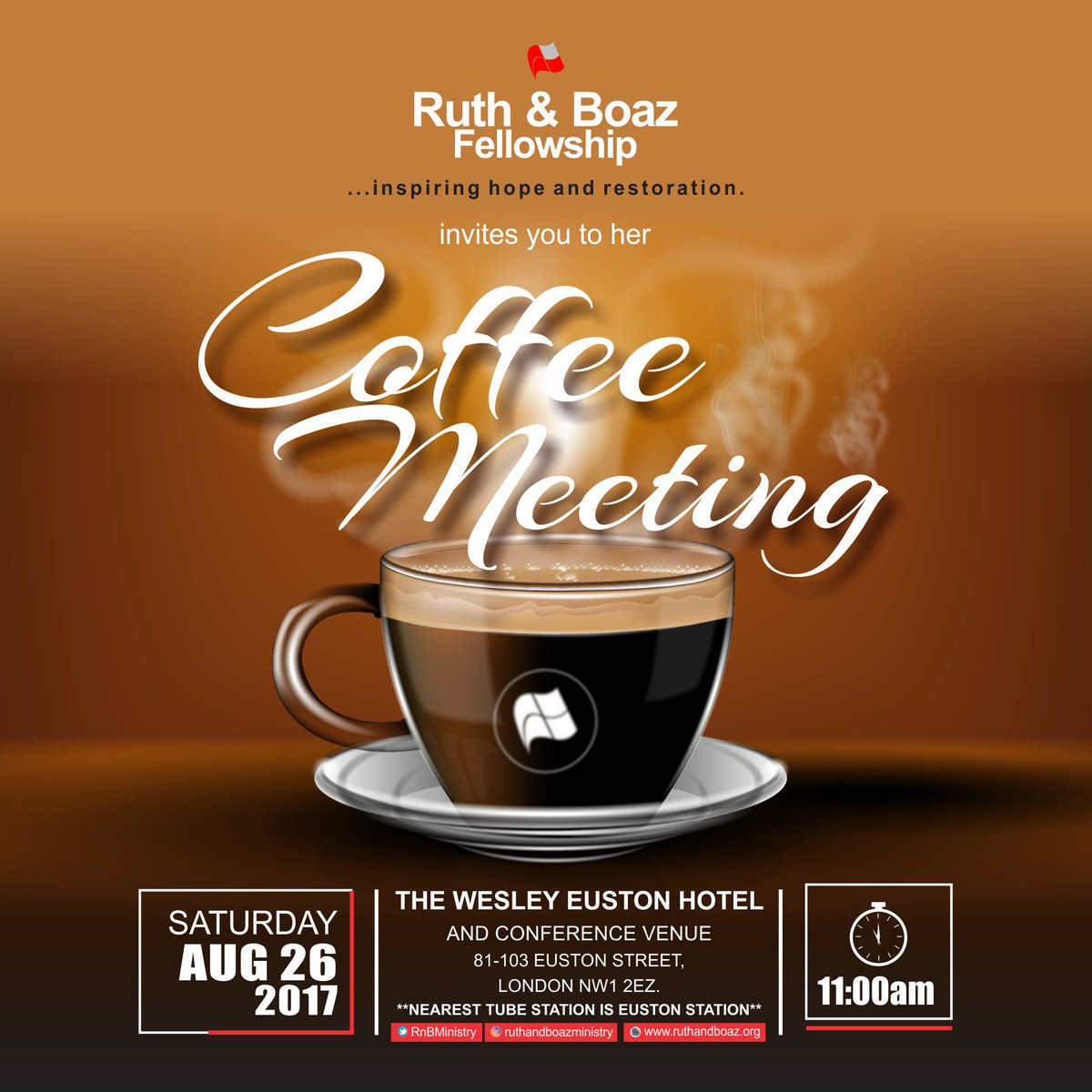 Coffee Meeting Flyer