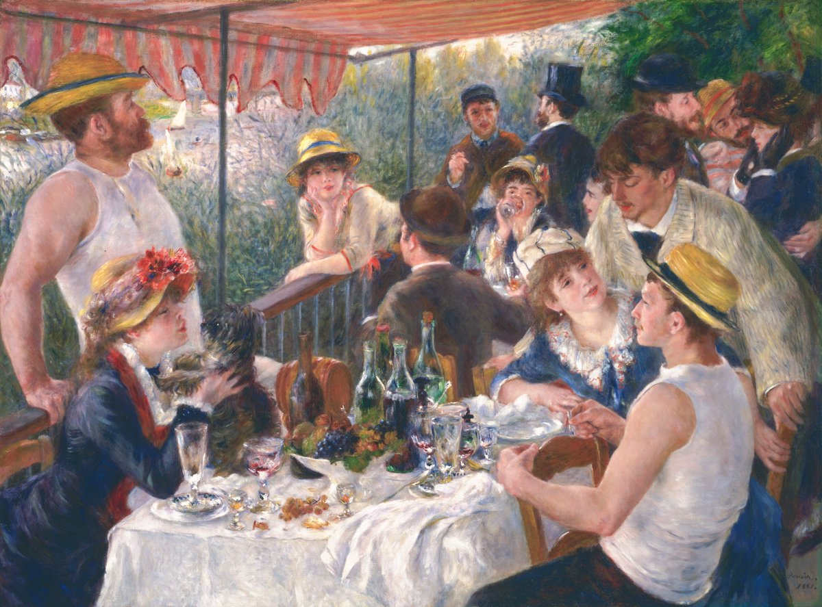 #ART - @PhillipsMuseum &quot;#Renoir and Friends: Luncheon of the Boating Party&quot; 10/7-1/7 40+ works  @dcartsbeat @dc_now   http:// bit.ly/2r7YFci  &nbsp;  <br>http://pic.twitter.com/RLHDMZ2p2s