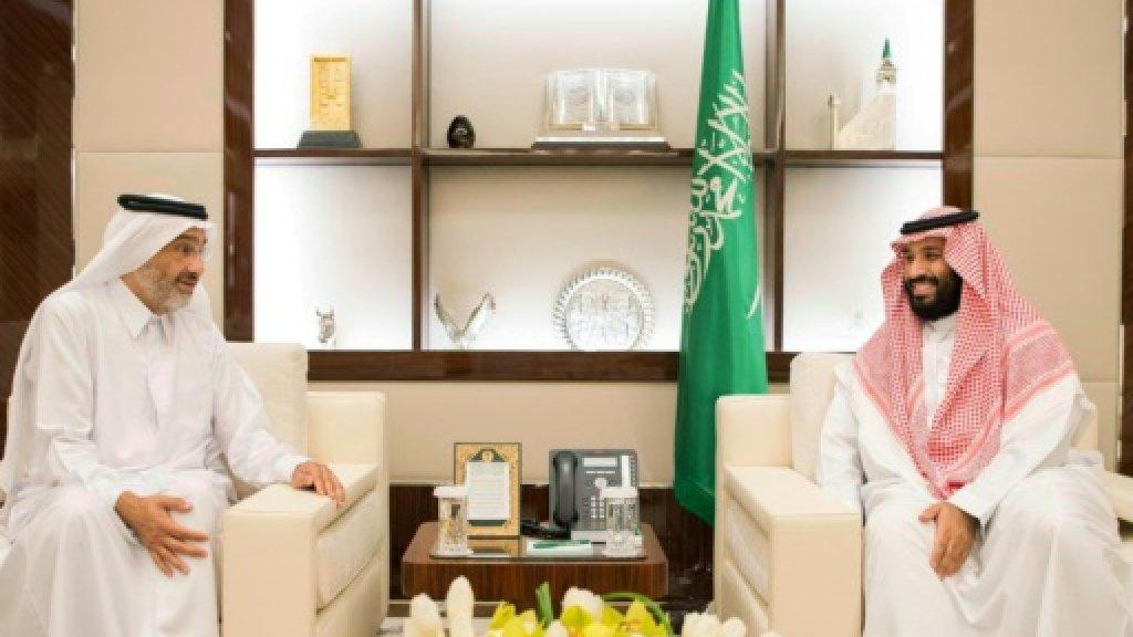 Mystery Qatari sheikh pushed into Gulf crisis spotlight https://t.co/B...