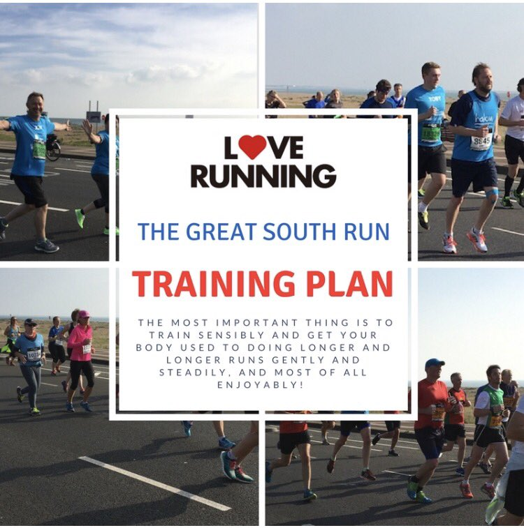 There's still time to join our Great South Run team. Sign up today and follow our 8 week training plan #MondayMotivaton