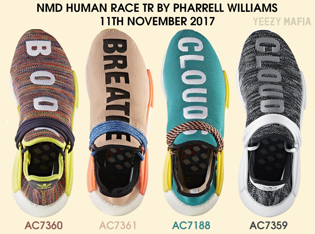 x pharell human race red nmd 863256 from arask at