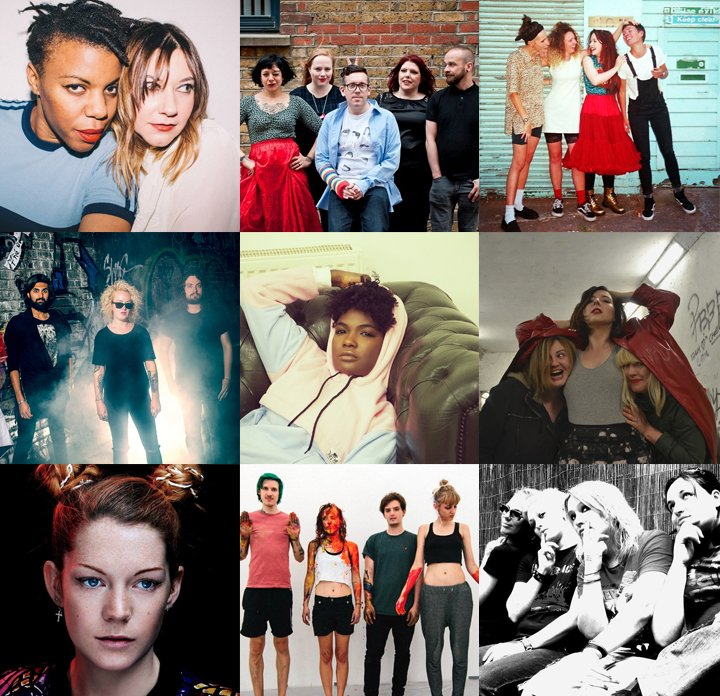 SO EXCITED about LOUD WOMEN FEST we added 10 tracks to our #Spotify playlist by some of the ace bands playing  http:// spoti.fi/2nE8pJB  &nbsp;   <br>http://pic.twitter.com/irP0KDodws