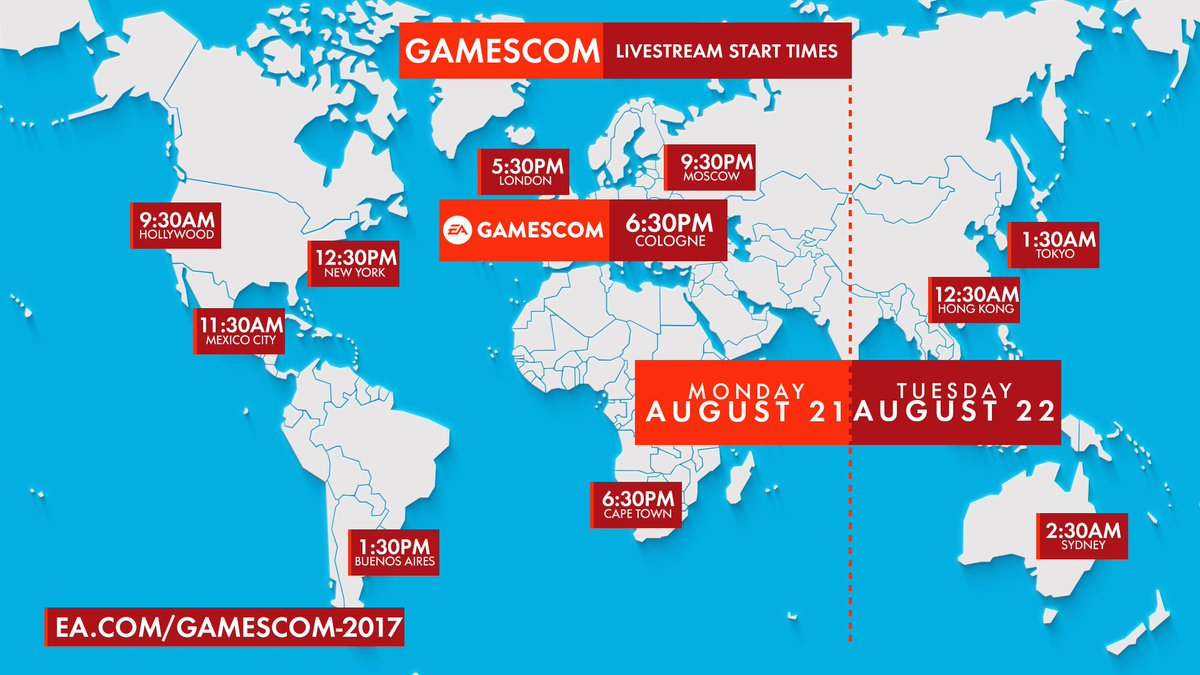 Here are your timings for the #eagamesco...