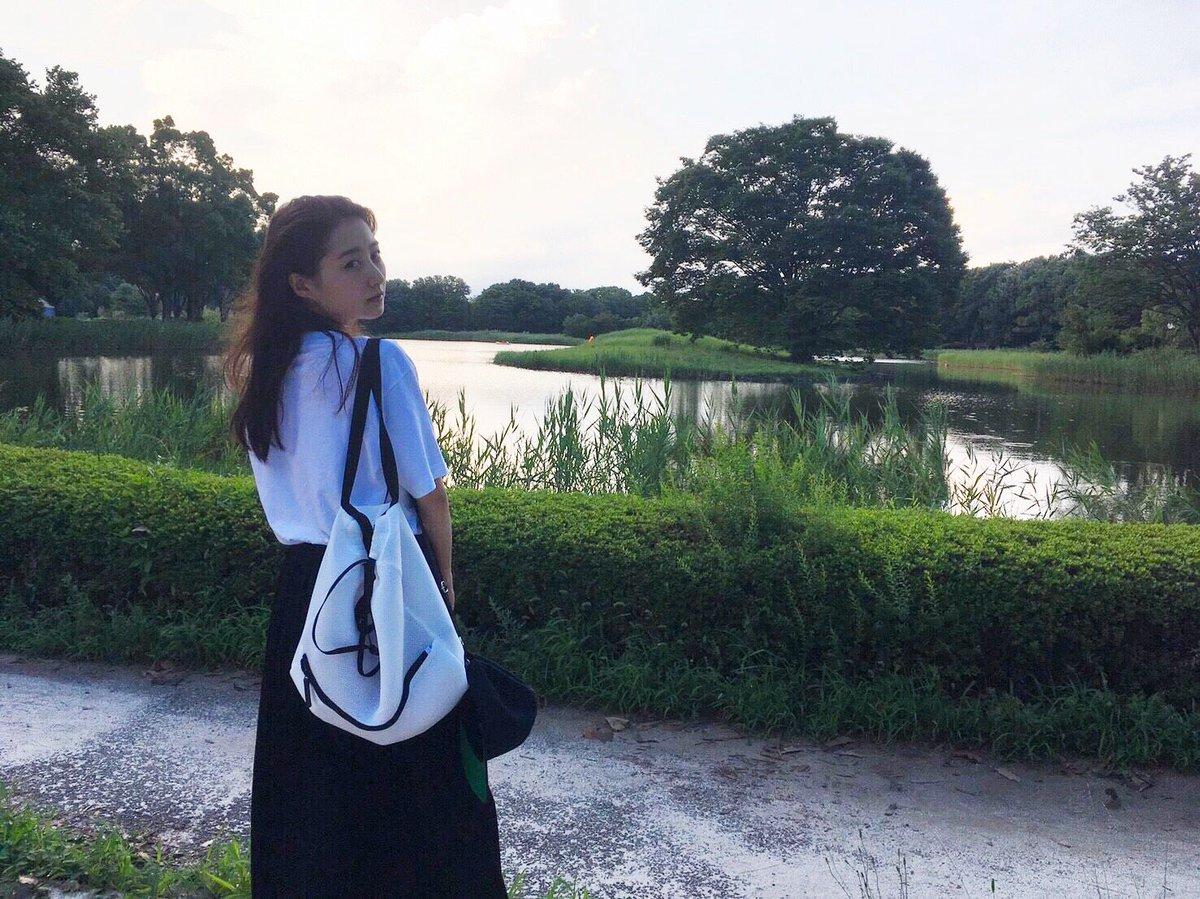 普通の景色の高田里穂