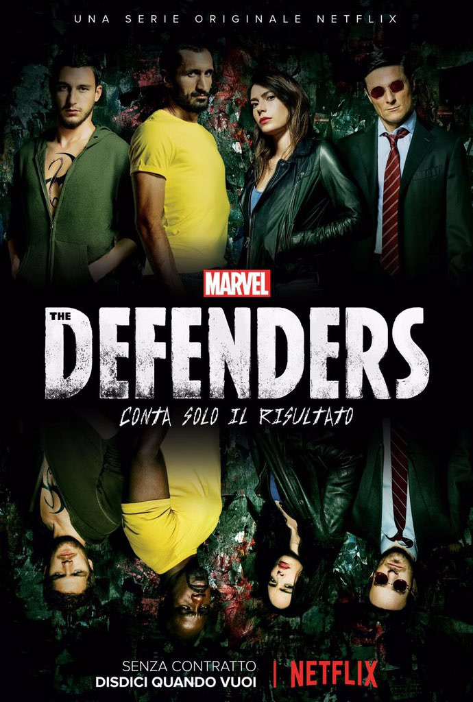 Here we are @NetflixIT #TheDefenders https://t.co/tHoaANx8V4