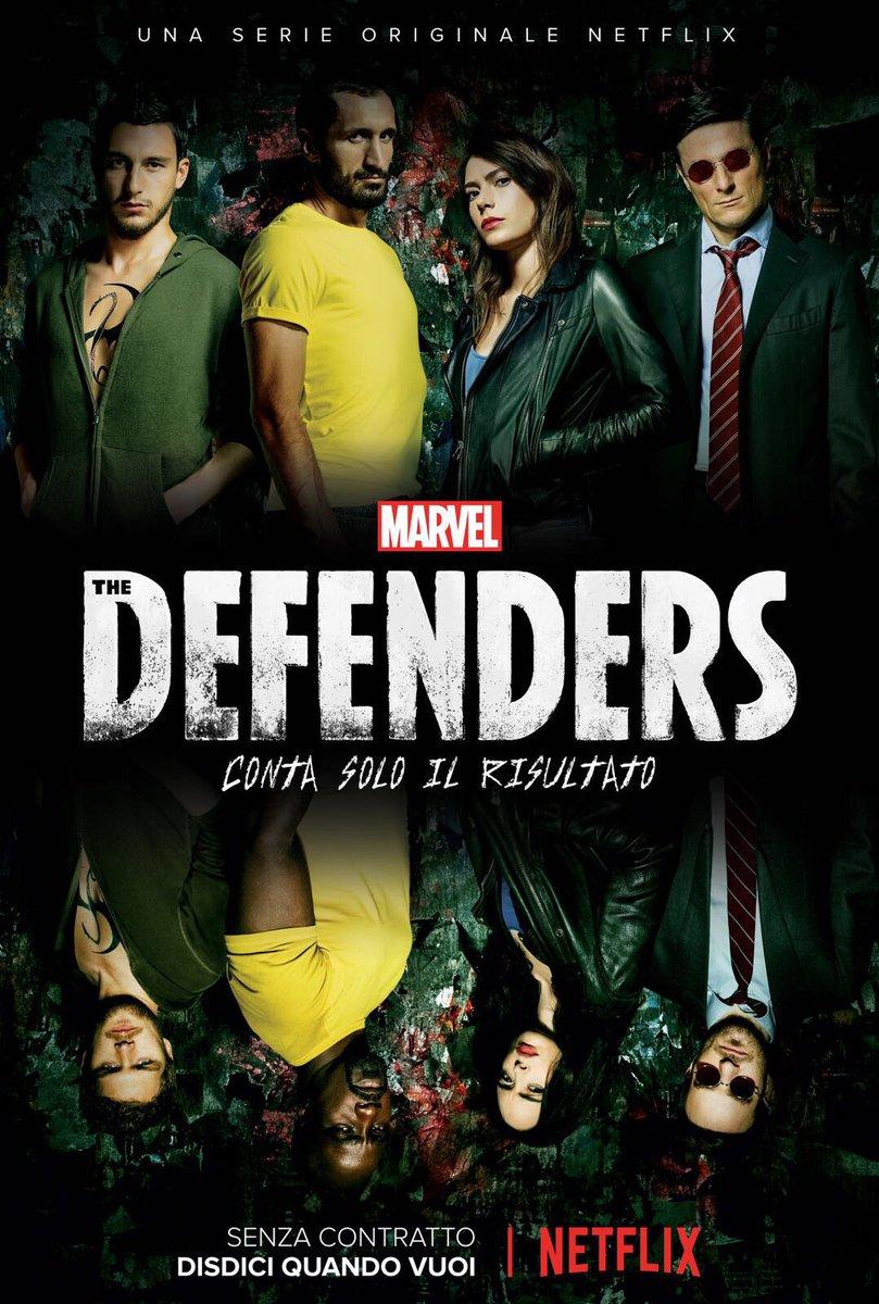 Italia, patria dei difensori @NetflixIT #TheDefenders @chiellini @javi...