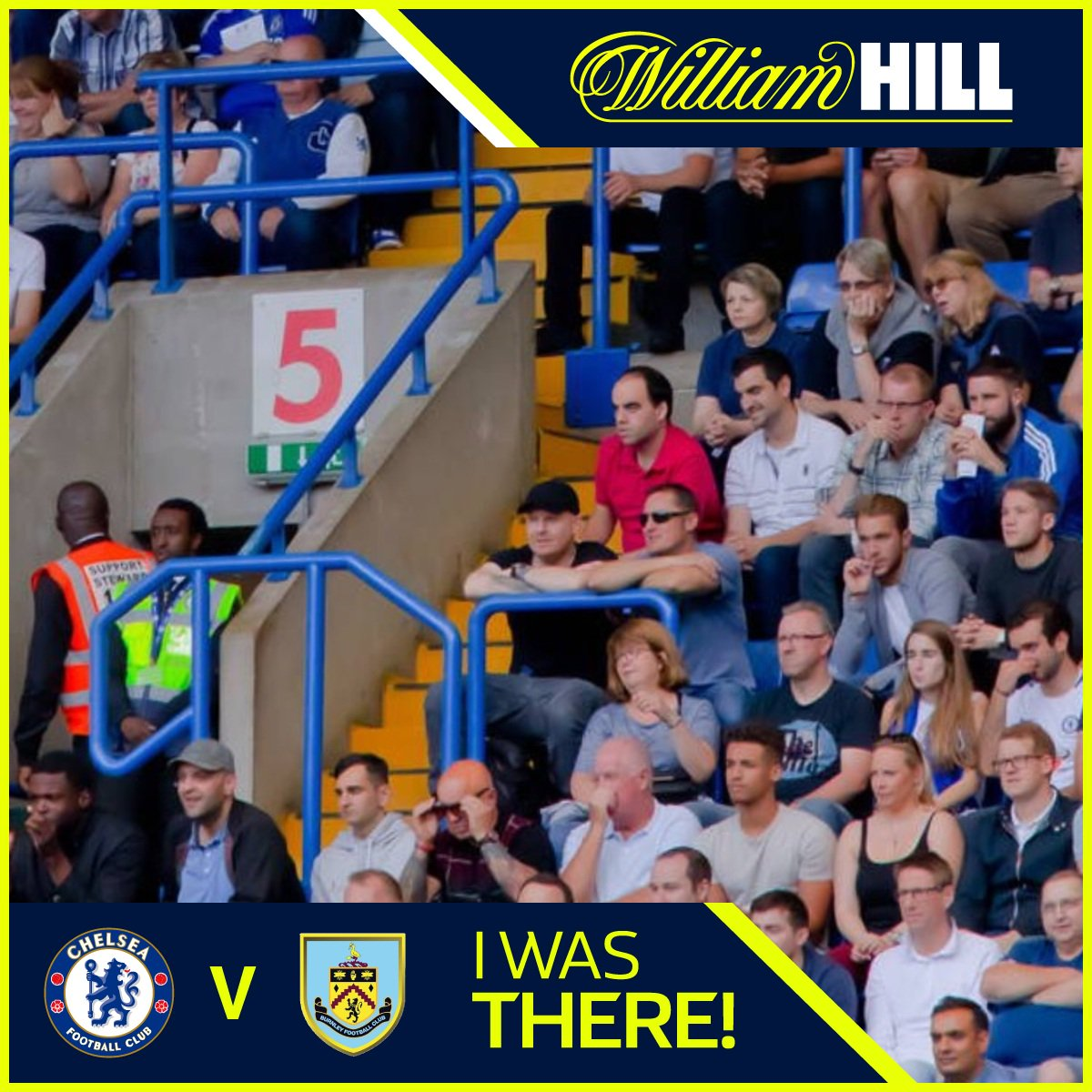 I was there! Check @WilliamHill FanPic  @ChelseaFC v Burnley #CHEBUR  http:// wh.cm/chelseafanpic  &nbsp;  <br>http://pic.twitter.com/eF7ydQydQ0