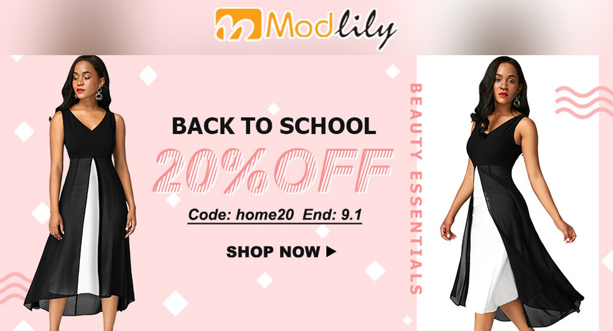 Back To School 20% Off at #Modlily Use Code :  https:// goo.gl/M4Nhnc  &nbsp;    #Fashion #Styles #Dresses #Clothing<br>http://pic.twitter.com/FQ77XJftRe