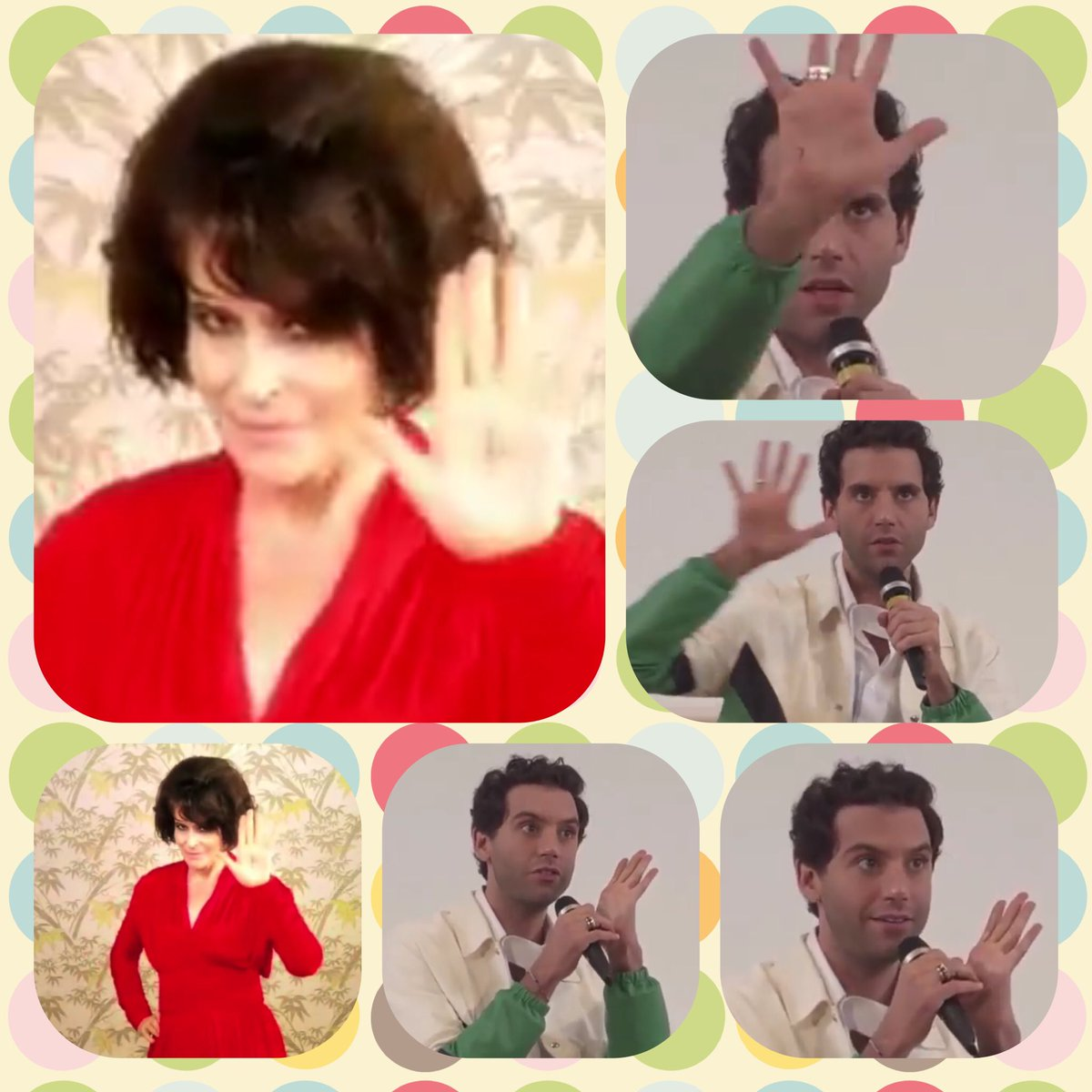 Thank you to a guy from Belarus at Giffoni for asking Mika about EMD. 十 #giffonifilmfest  #mikasounds  #ElleMeDit  #FannyArdant <br>http://pic.twitter.com/xaR4SS40cd