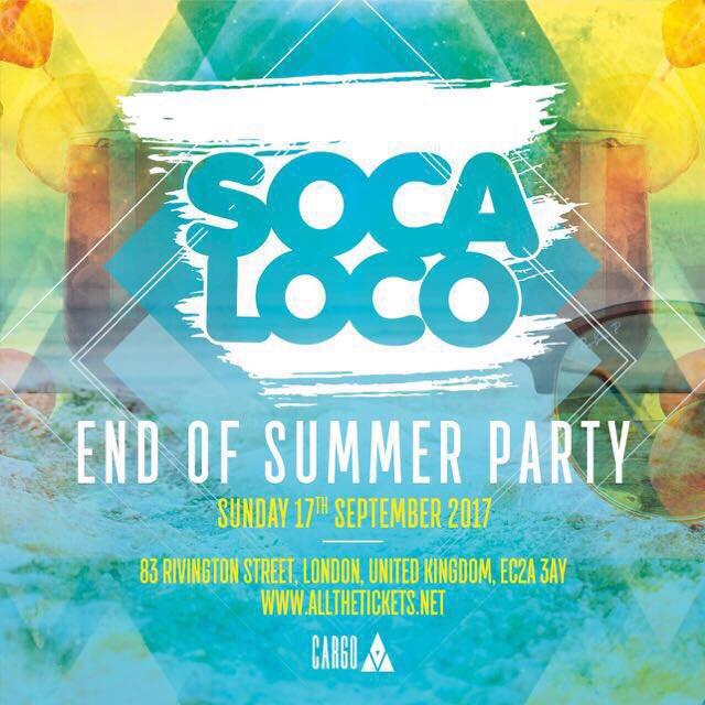 Tickets now from £5 via @lovesocaloco bio #soca #london #city #socaloco #lovesocaloco #carnival #cure #dayfete #cargo #live #love #life<br>http://pic.twitter.com/h1E5JUPuUW