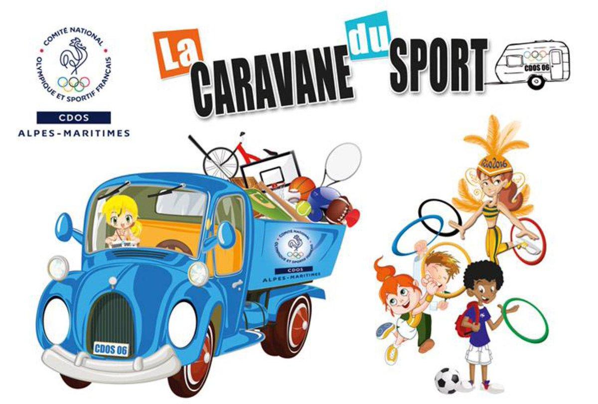 """Résultat de recherche d'images pour """"caravane du sport CD06"""""""