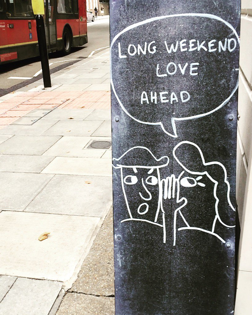 #longweekend is coming 👏👏👏 https://t.co/...