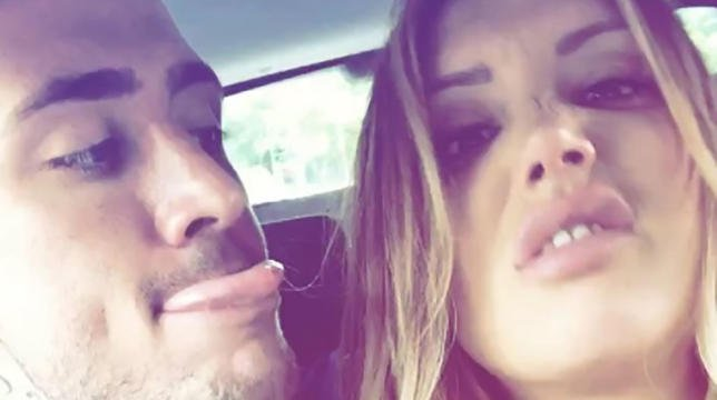 Charlotte Crosby And Stephen Bear In Backseat Antics As They   : https...